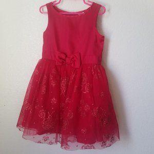 Disney girls red dress